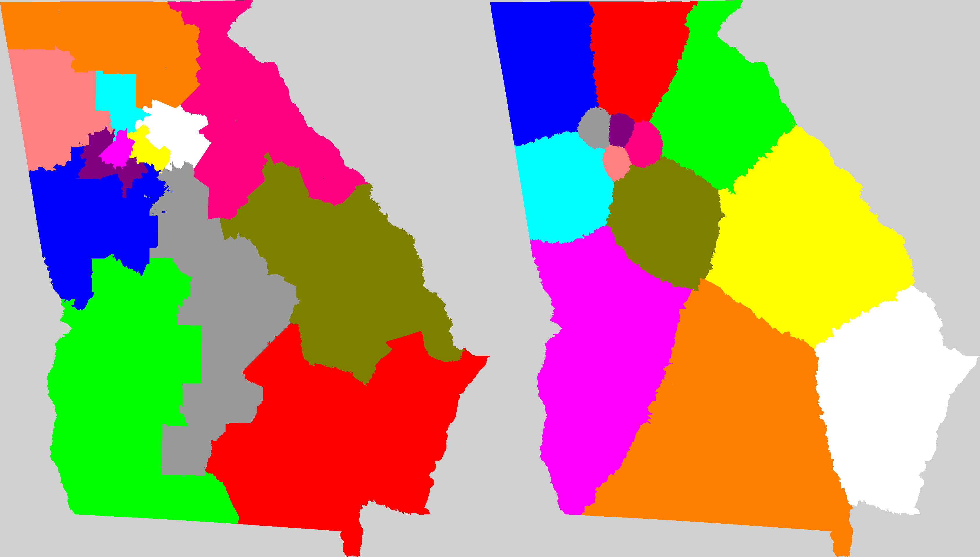 Georgia Congressional District Map Current And My Way