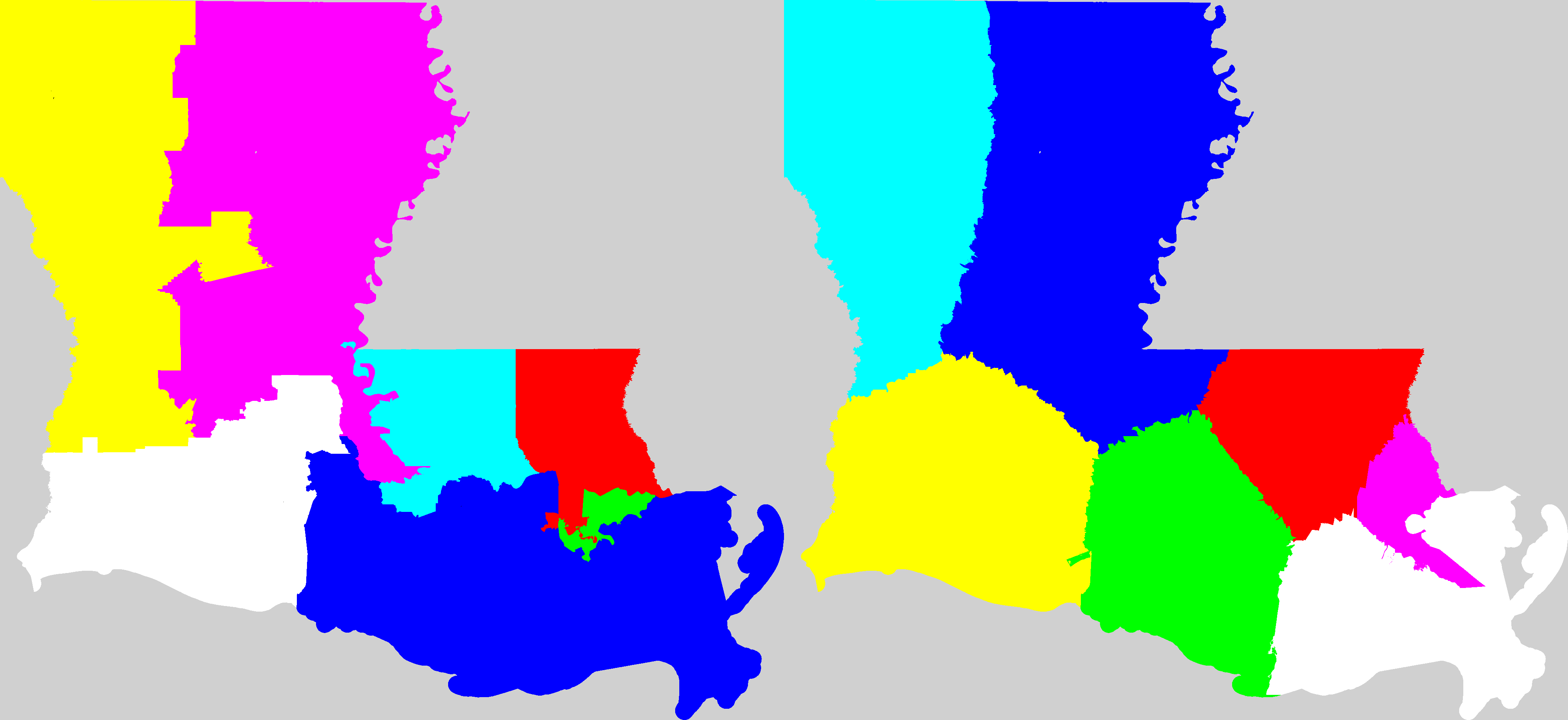 Current Map Of Louisiana.Louisiana Redistricting