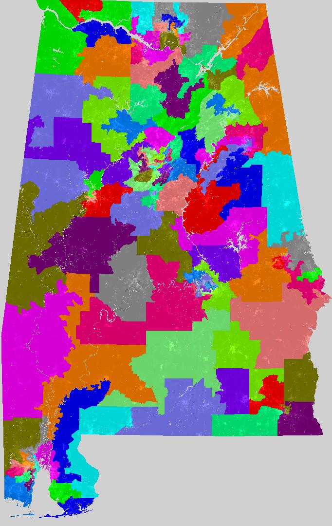 Alabama House Of Representatives Redistricting