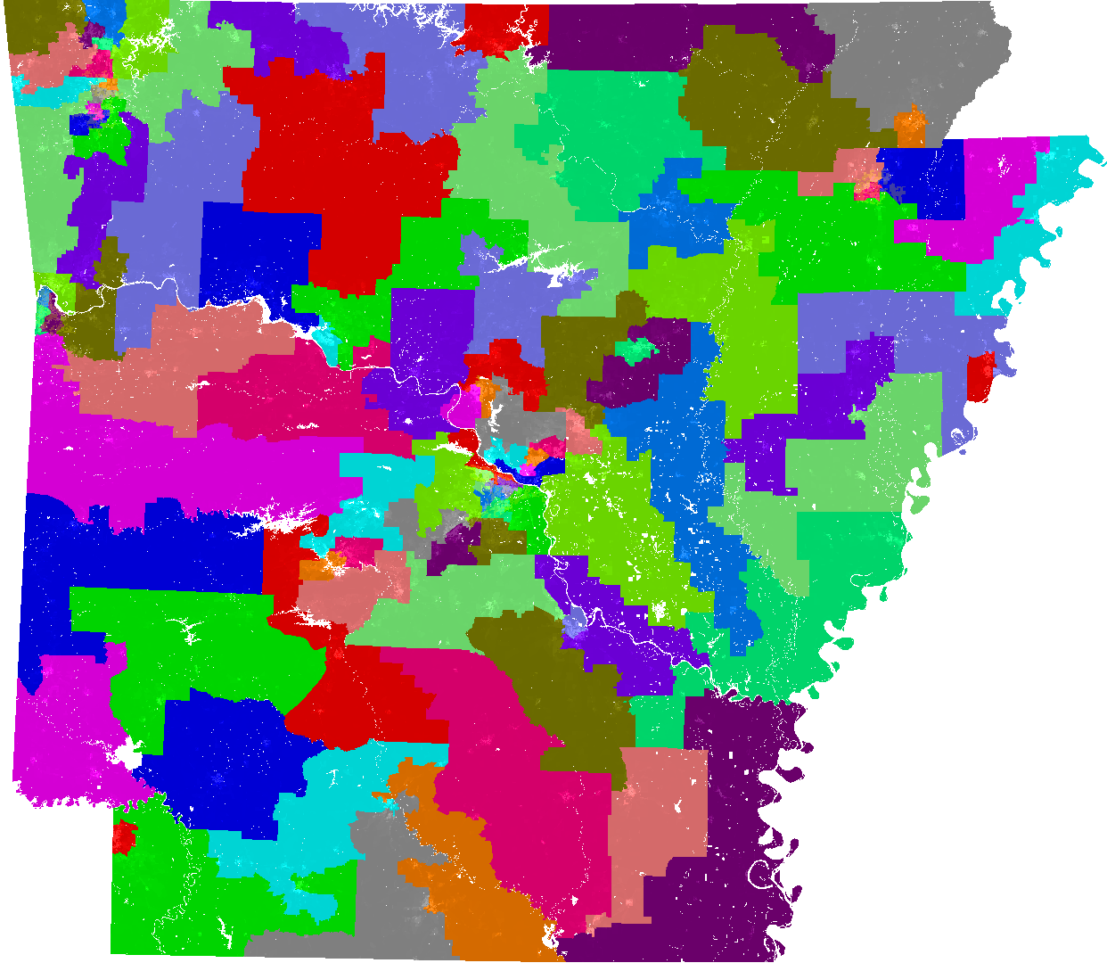 Arkansas House Of Representatives Redistricting