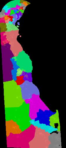 Re Districting >> Delaware House of Representatives Redistricting