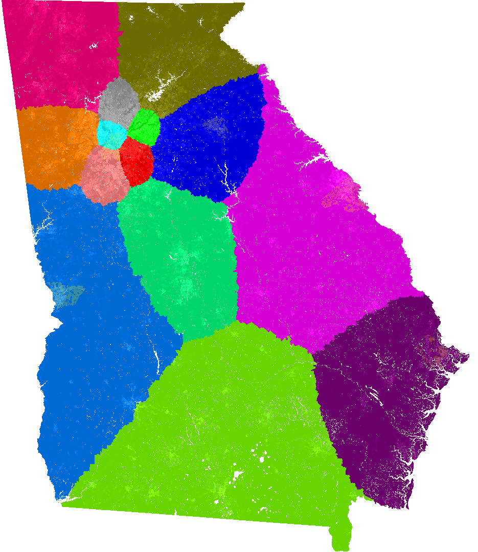 Georgia Congress Congressional District Map Current