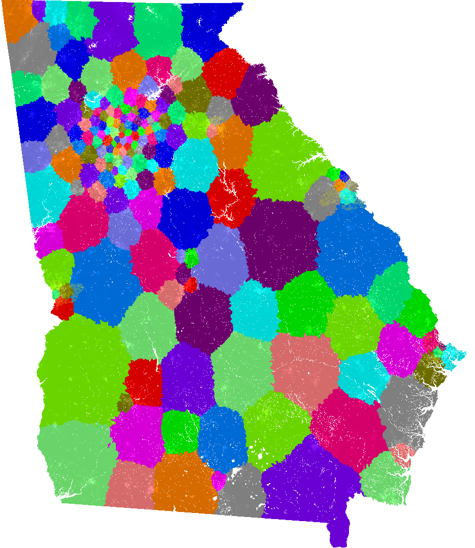 georgia house of representatives congressional district map current