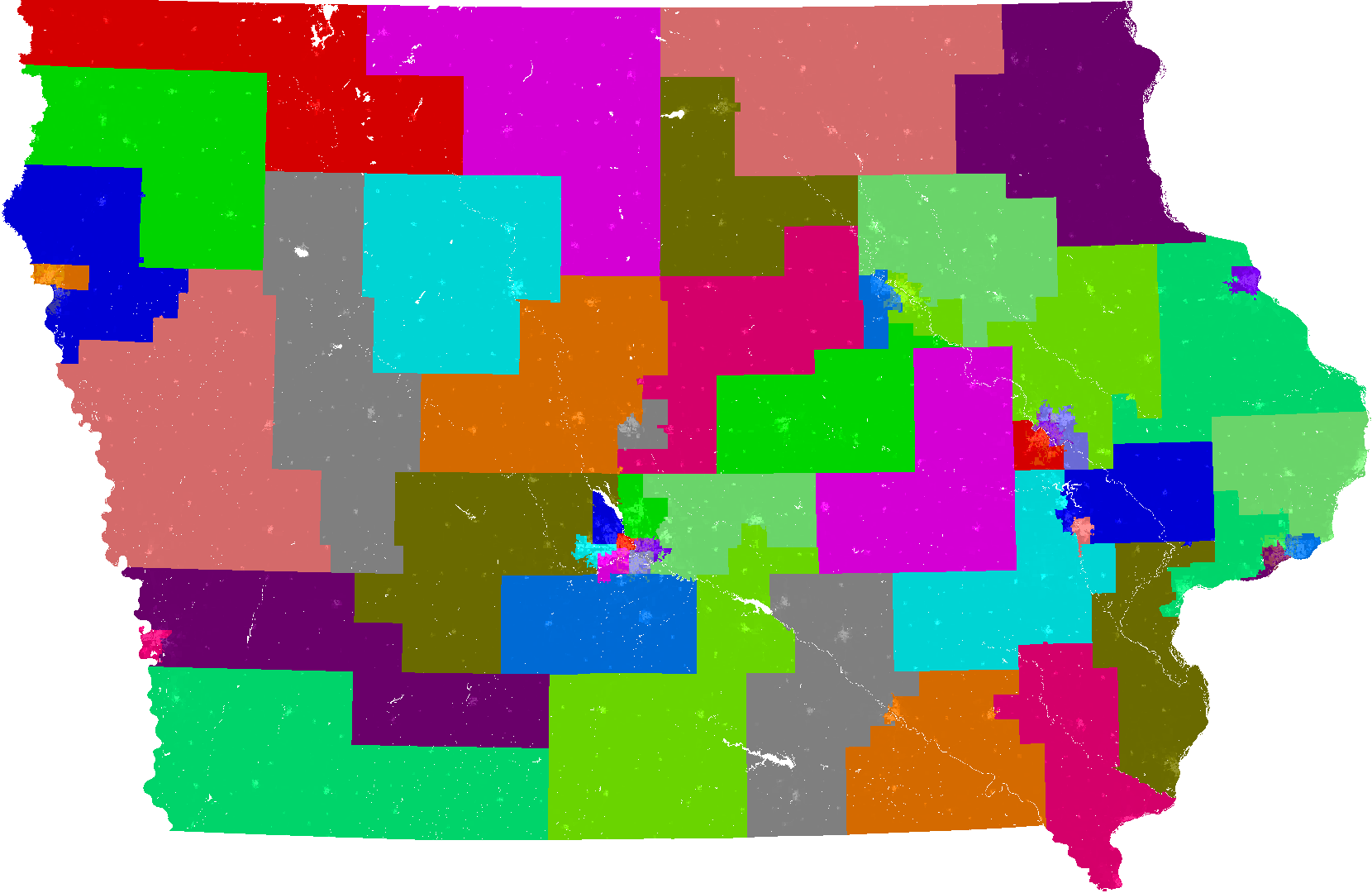 Iowa Senate Redistricting