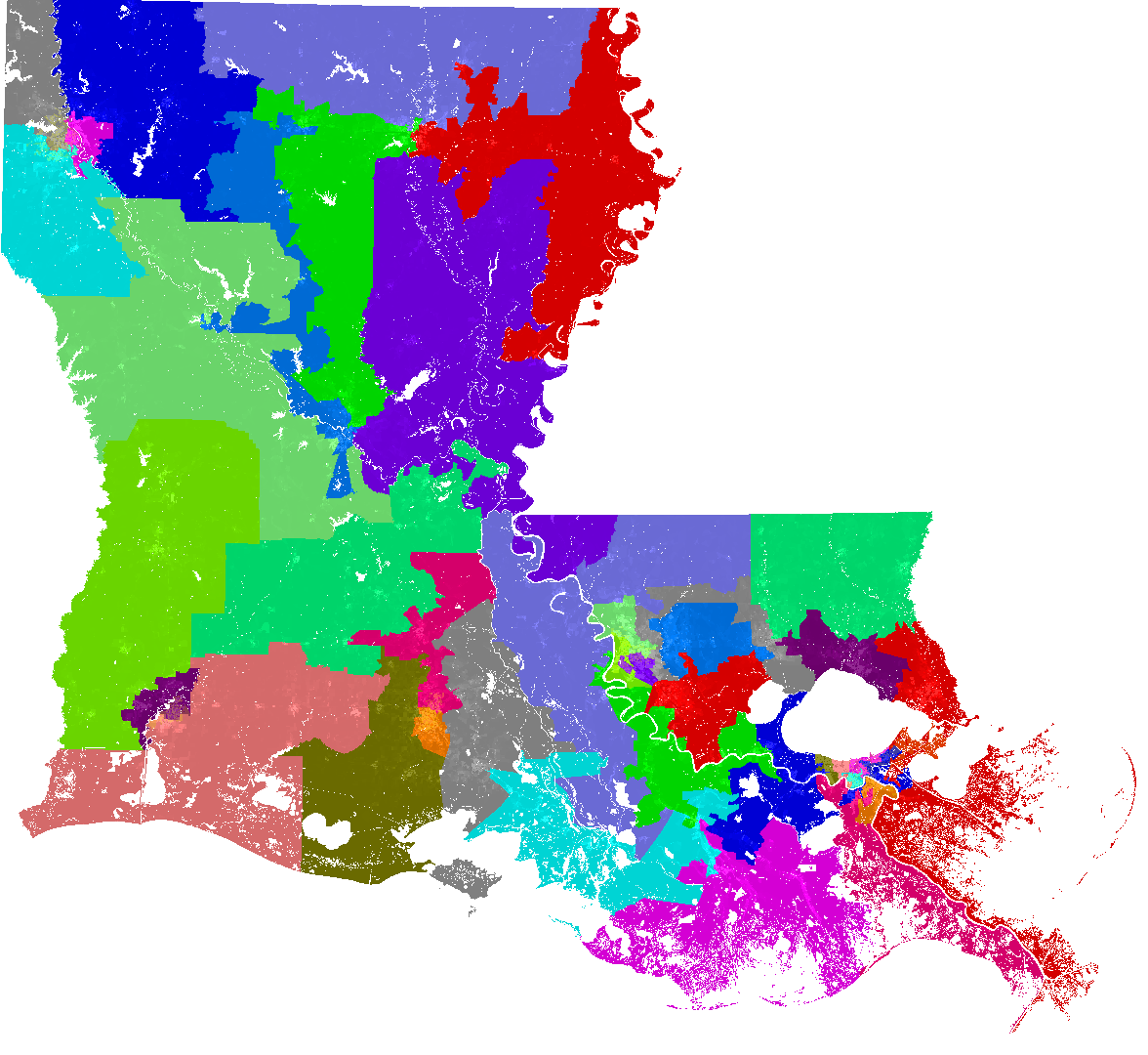 Current Map Of Louisiana.Louisiana Senate Redistricting