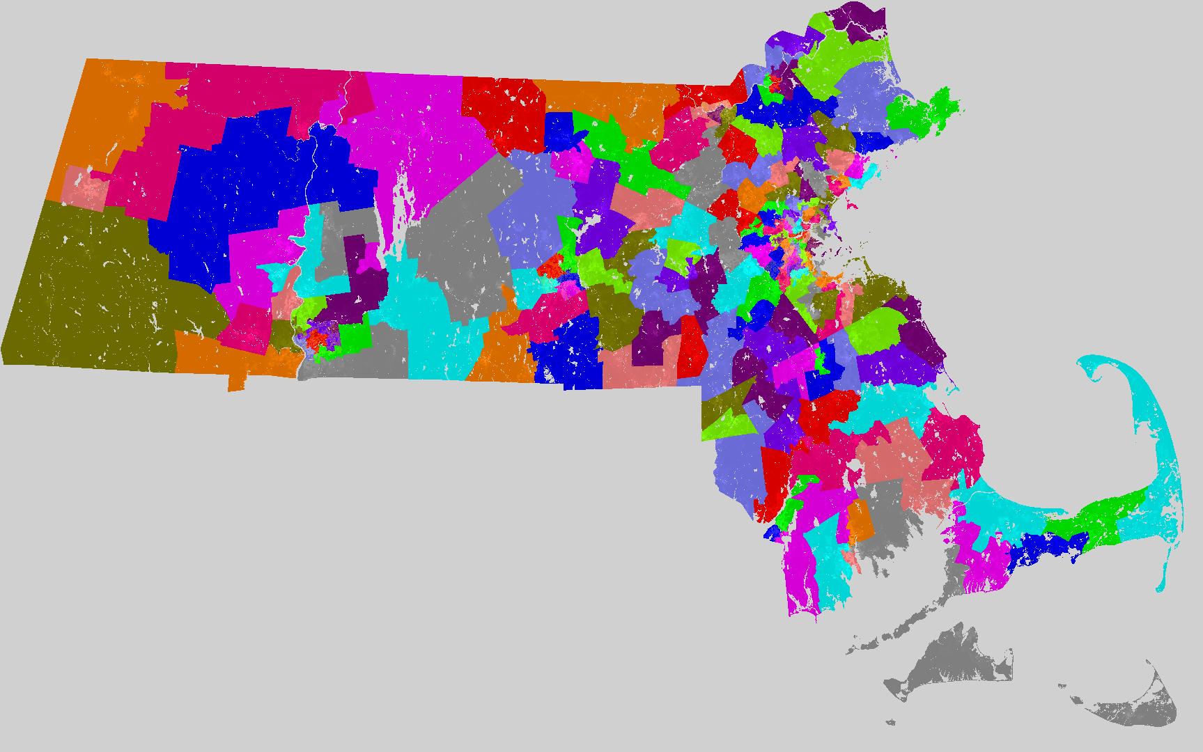 massachusetts house of representatives redistricting