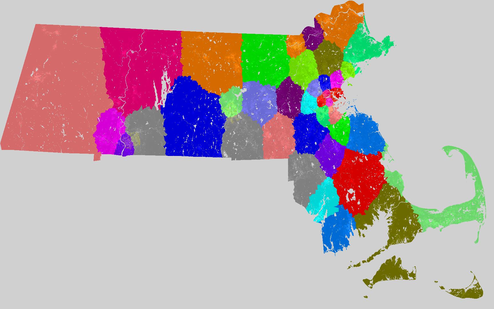 Massachusetts Senate Redistricting