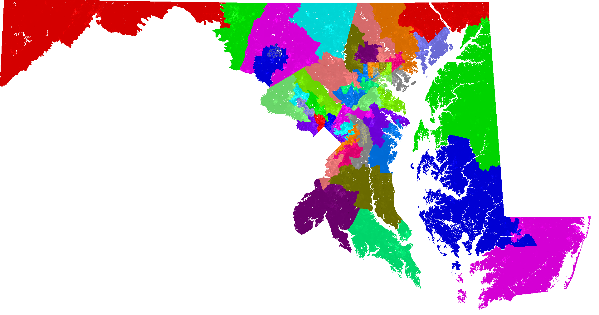 maryland senate district map Maryland Senate Redistricting maryland senate district map