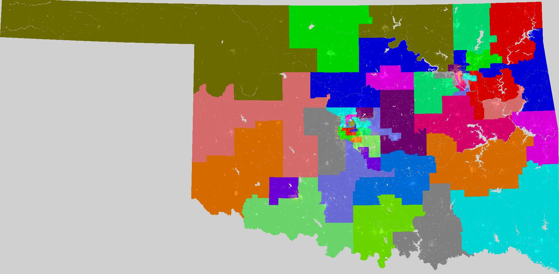 Oklahoma Senate Redistricting