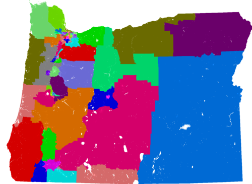 Oregon House Of Representatives Redistricting