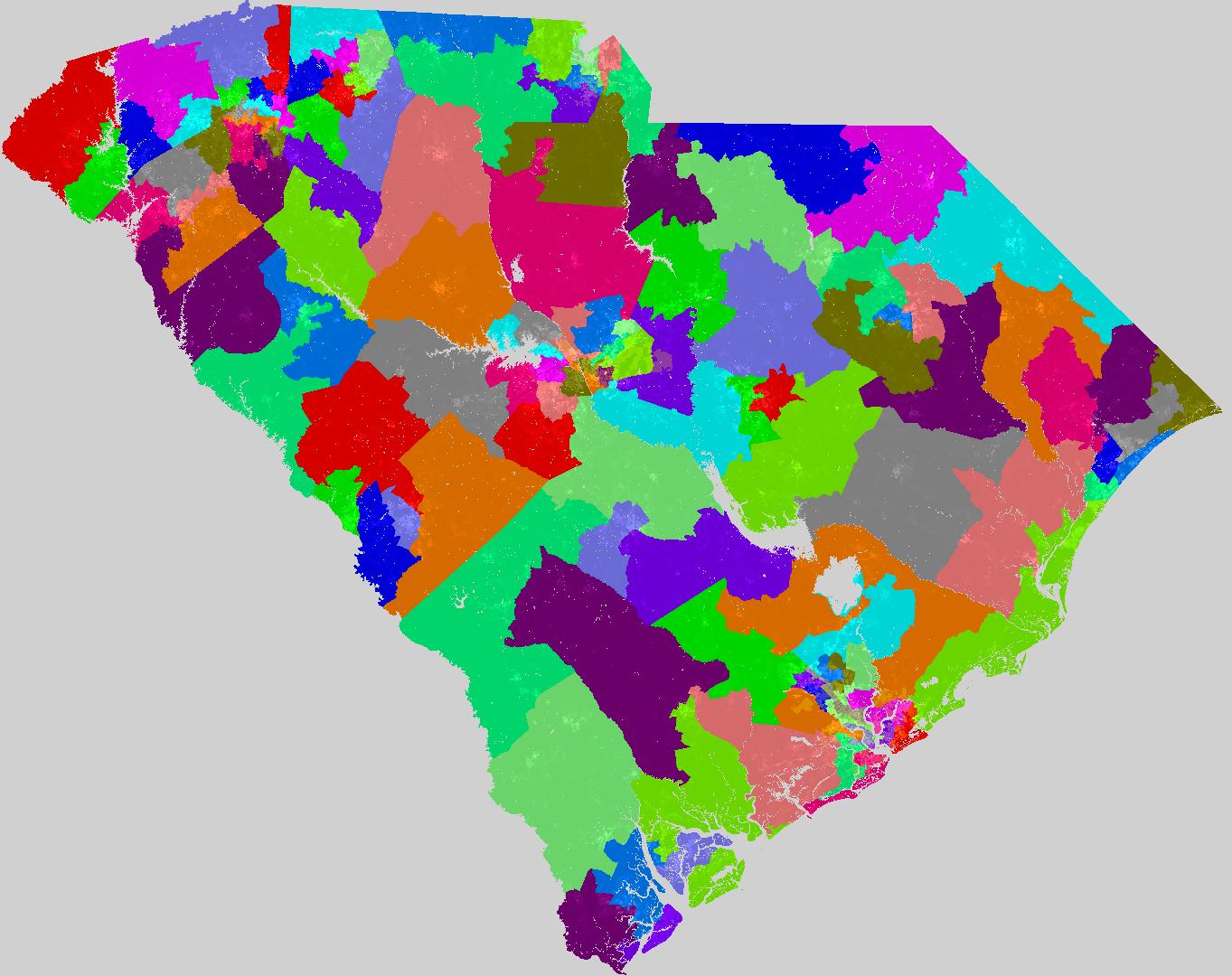 larger south carolina house of representatives map