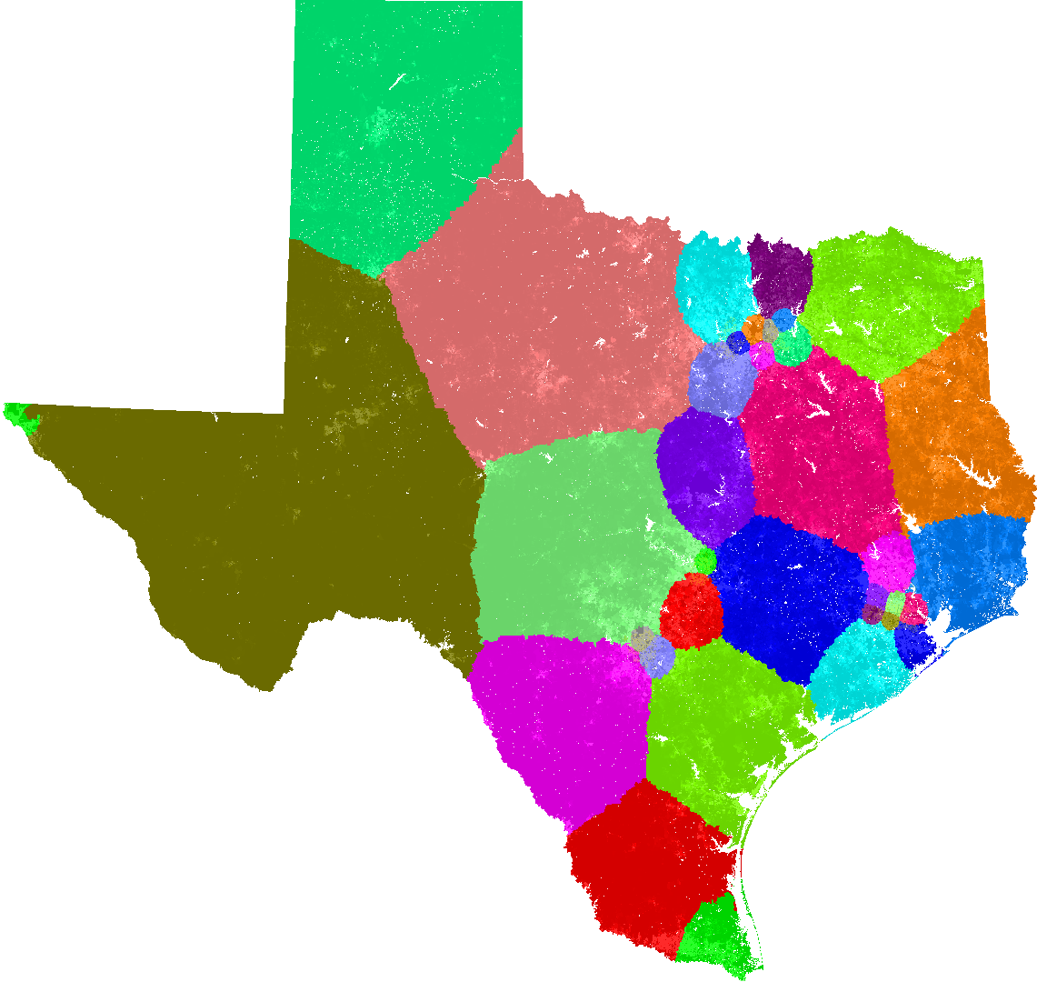 Texas Congress Redistricting - Texas us house district map