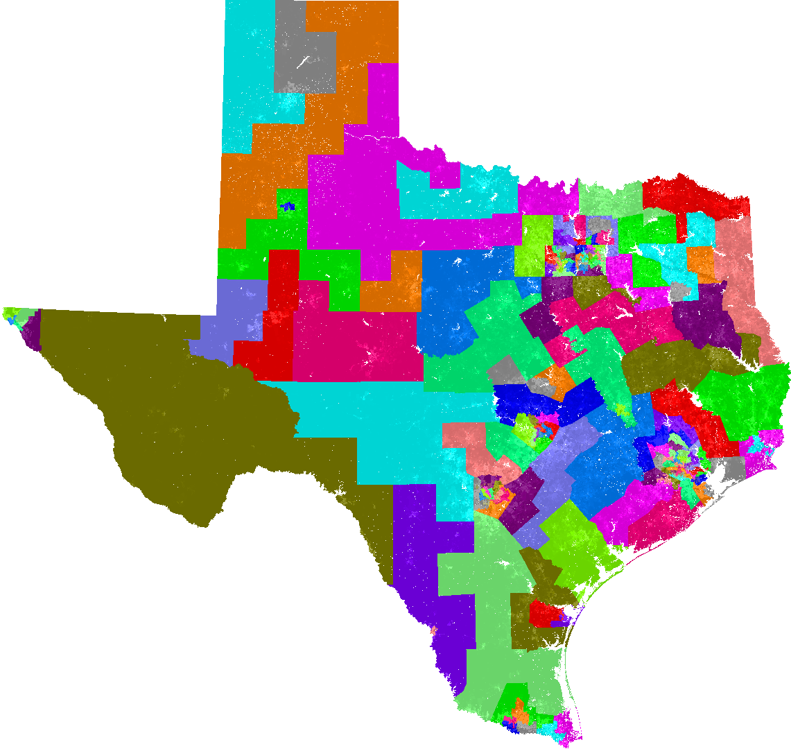 Texas House of Representatives Redistricting