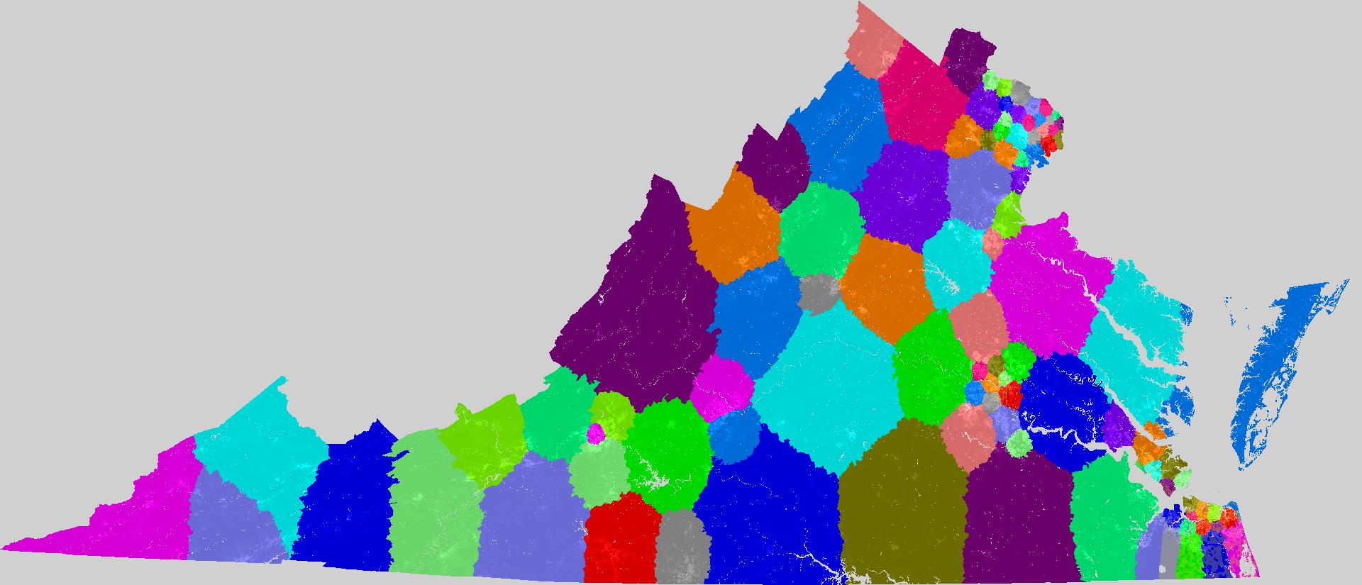 Virginia House Of Delegates Redistricting